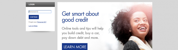 Credit Card Account Access Log In