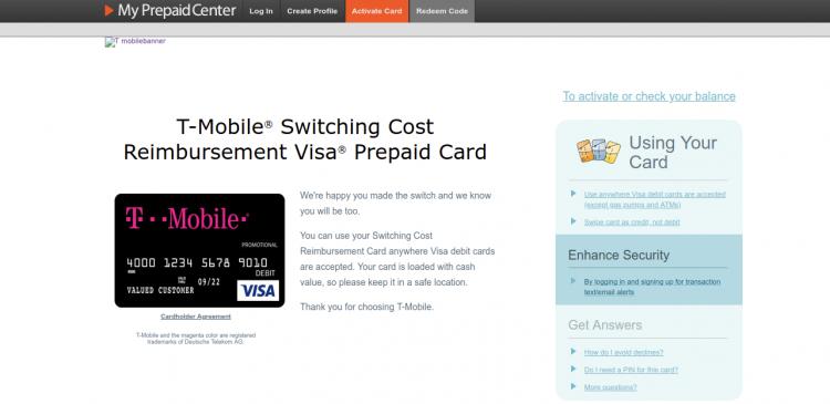 www myprepaidcenter com/site/t-mobile - T-Mobile Value Card Online