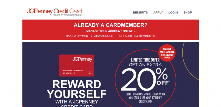 Www Jcpenney Com Jcpenney Credit Card Online Login Price