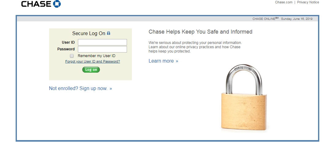 how to enroll online Chase Slate Credit Card