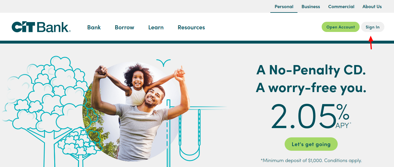 CIT-Bank-Online-login