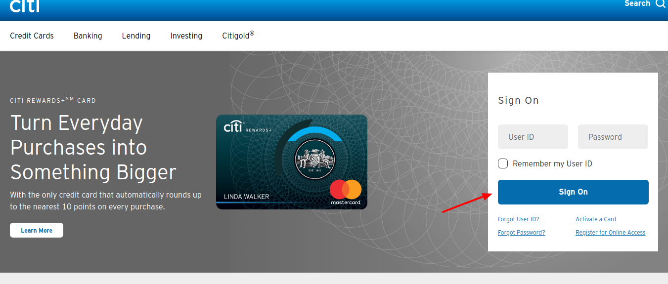 Online-Banking-citi-bank-sign-on