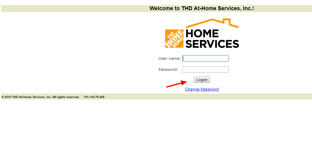 THD-At-Home-Services-Login