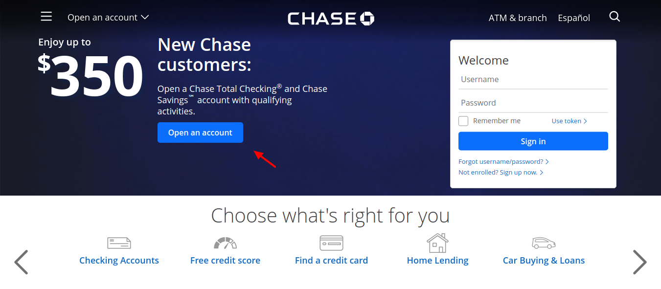 chase-open-account