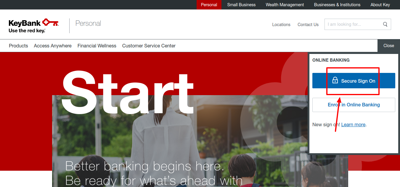 KeyBank Login