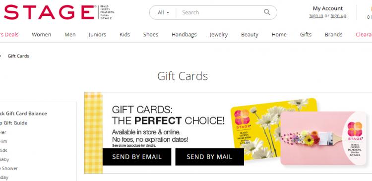 Peebles gift cards balance check