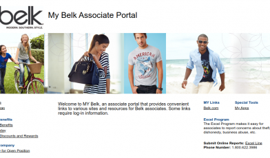 MY Belk Associate Portal Logo