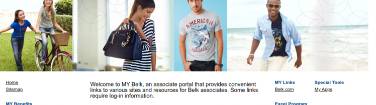 MY Belk Associate Portal Logo
