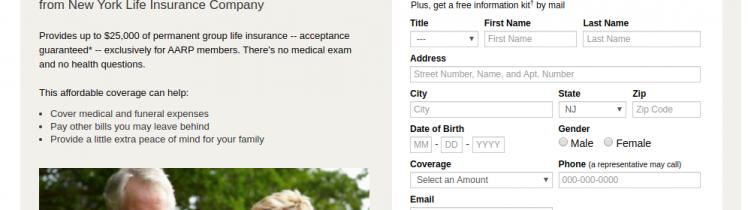 AARP Guaranteed Acceptance