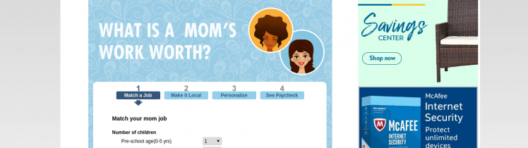 Salary com - MomSalaryWizard Tool