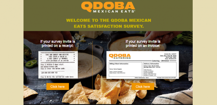 Qdoba Customer Survey