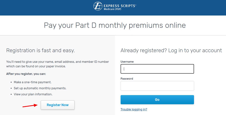 Express Scripts Register