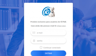 iG Mail Premium Login