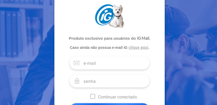 iG Mail Premium Login