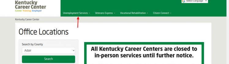 Kentucky Career Locations Umemployement