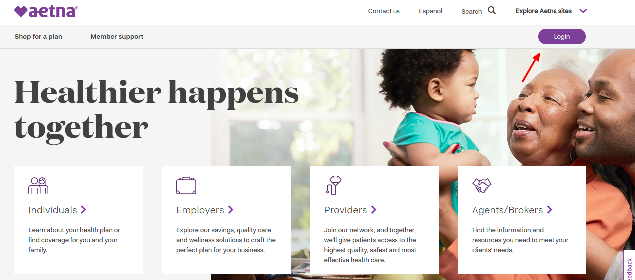 Aetna Coventry Health Care Login