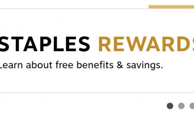Staples EasyTech Rewards